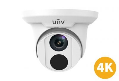 4K Uniview Dome IPCamera ottica 2.8mm, IR 30mt, U265