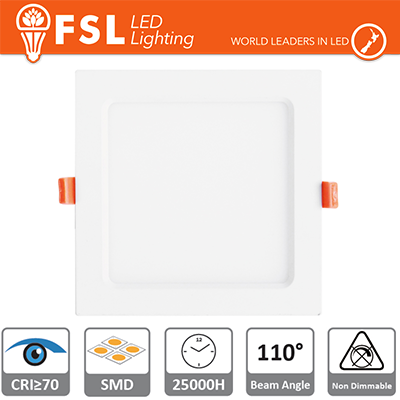 Downlight LED IP20 18W 4000K 1400LM 110° Φ225/Φ210