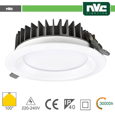 Downlight LED IP40 20W 4000K 1640LM 100º Φ168/Φ150