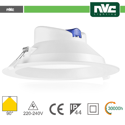 Downlight LED IP44 20W 3000K 1880LM 90º Φ224/Φ195