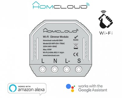 Modulo Dimmer Intelligente Wi-Fi