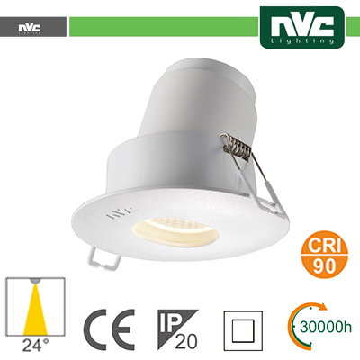 Spotlight LED IP20 9W 3000K 700LM 24º Φ115/Φ95